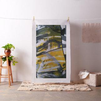 Noir et jaune de tissu