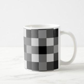 Noirs, blancs, et nuances des gris mug blanc