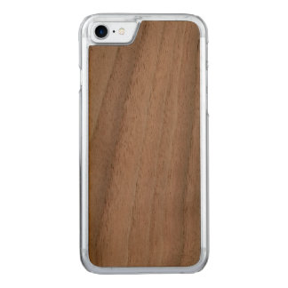 Noix mince découpée de cas de l'iPhone 7 Coque En Bois iPhone 7
