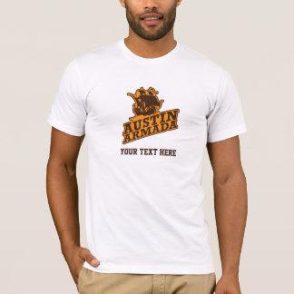 Nom 04 d'équipe t-shirt