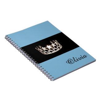 Nom de coutume de carnet de couronne de bleus