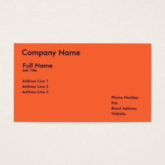 Nom de la société, nom et prénoms, fonction, cartes de visite