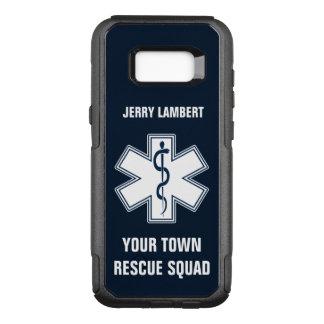 Nom et peloton d'infirmier d'EMT SME Coque Samsung Galaxy S8+ Par OtterBox Commuter
