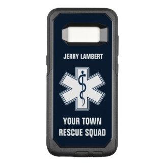 Nom et peloton d'infirmier d'EMT SME Coque Samsung Galaxy S8 Par OtterBox Commuter