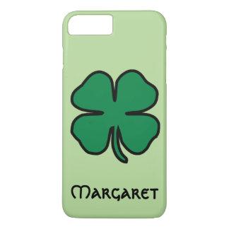 Nom irlandais de coque iphone de trèfle de feuille