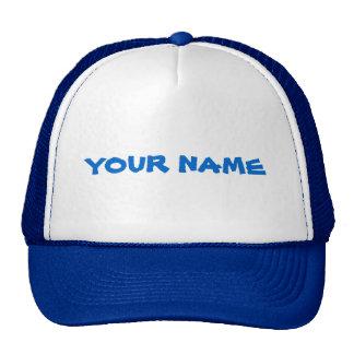 Nom personnalisé casquettes