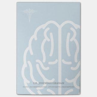 Nom personnalisé par psychiatre du neurologue   post-it®