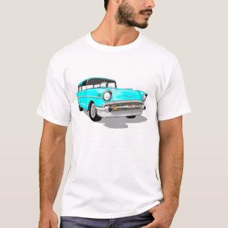 Nomade 1957 dans bleu-clair t-shirt