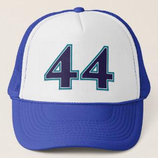Nombre bleu 44 casquette