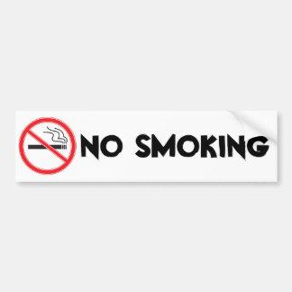 Non-fumeurs Autocollant De Voiture