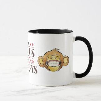 Non mon cirque, non ma tasse de singes