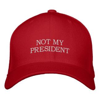 NON MON PRÉSIDENT - casquette d'atout