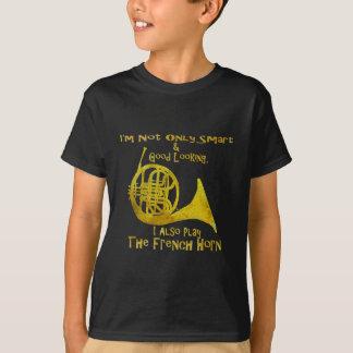 Non seulement cor de harmonie intelligent t-shirt