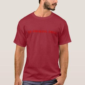 non smoking secteur t-shirt