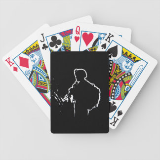 Nooit alleen - het Hand Getrokken Ontwerp van de Poker Kaarten