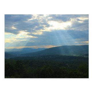 Nord Adams de cieux de Berkshire Carte Postale