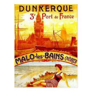 Nord-Pas-de-Calais vintage, Dunkerque, France - Cartes Postales