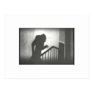 Nosferatu rampant les escaliers cartes postales
