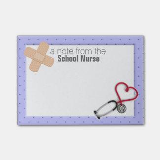 Note de Courrier-it® d'infirmière d'école Post-it®