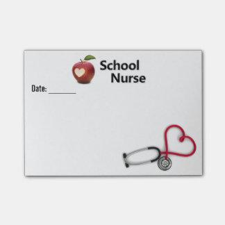 Note de post-it d'infirmière d'école post-it®