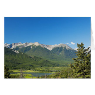 Note des Rocheuses de Canadien Carte