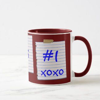 Notes d'amour pour la tasse de Grampa