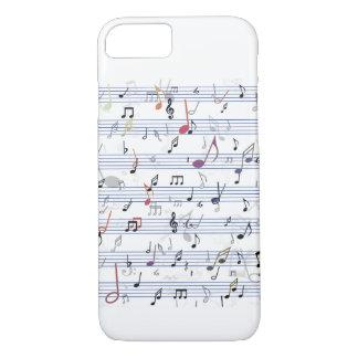 Notes de couleur coque iPhone 7