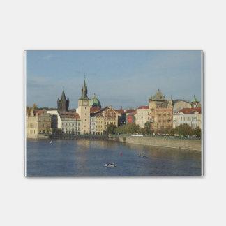 Notes de post-it de Prague