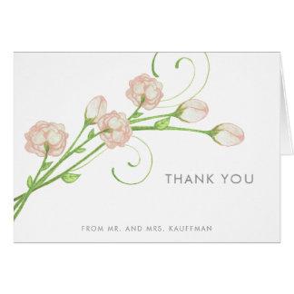 Notes vintages de Merci de roses de jardin