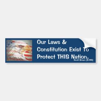 NOTRE constitution Autocollant De Voiture