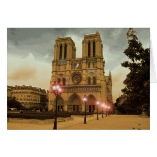 Notre Dame Carte