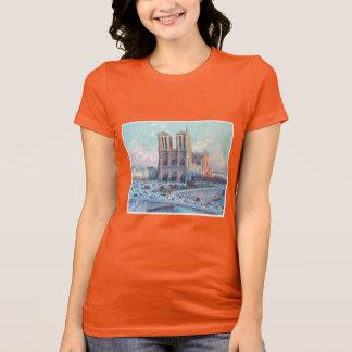 Notre Dame de Paris vintage de voyage T-shirt