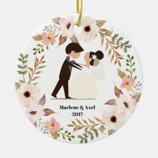 Notre ornement premier par Noël de ménages mariés