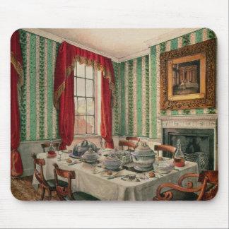Notre salle à manger à York, 1838 Tapis De Souris