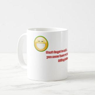 N'oubliez pas de sourire mug