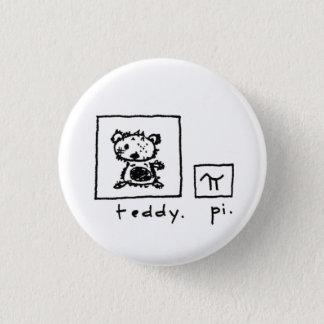 nounours + pi badge rond 2,50 cm