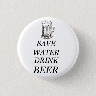 Nourriture de boissons de bière badge rond 2,50 cm