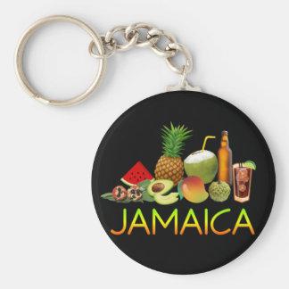 Nourriture jamaïcaine porte-clés