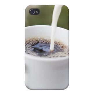 Nourriture, nourriture et boisson, café, crème, cr iPhone 4/4S case