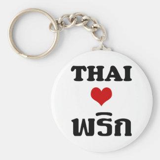Nourriture thaïlandaise de ❤ THAÏLANDAIS de Porte-clés