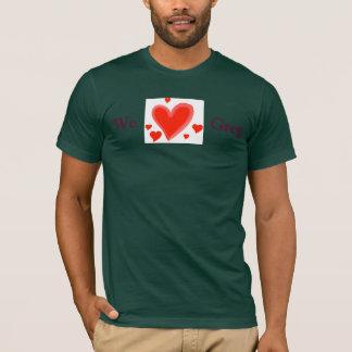 Nous aimons Greg, le T-shirt des hommes