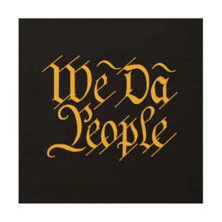 Nous ART de MUR de personnes du DA