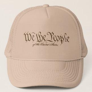 Nous les casquettes de personnes