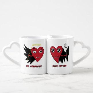 Nous nous accomplissons l'amour mignon du jour de mug