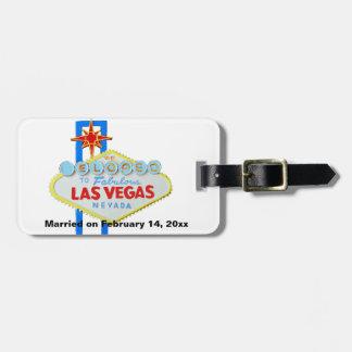 Nous nous sommes enfuis pour se marier à Las Vegas Étiquettes Bagages