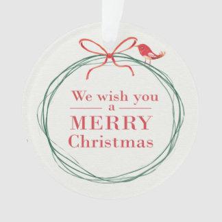 """""""Nous ornement vous souhaitons Joyeux Noël"""""""