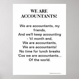 Nous sommes des comptables ! Chanson de motivation
