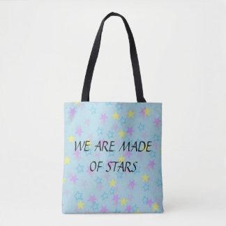 Nous sommes faits de sac fourre-tout à étoiles