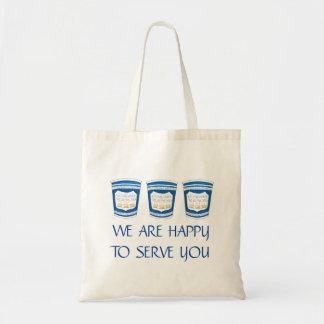 Nous sommes heureux de vous servir NYC le sac grec