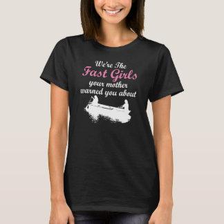 Nous sommes les filles rapides - T-shirt d'aviron